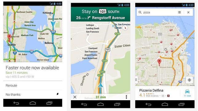Los avisos de tráfico de Google Maps están disponibles en España