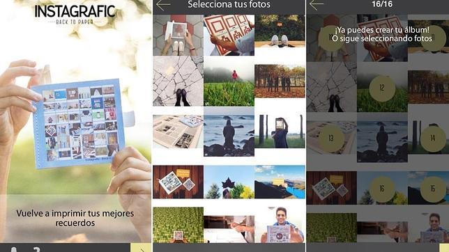 Instagrafic: cuando la foto móvil se disfraza de álbum artesanal