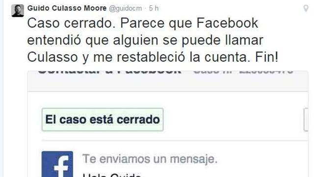 Facebook desactiva la cuenta de un usuario por considerar su apellido obsceno