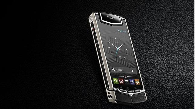 Vertu lanza un «smartphone» con Android de 7.900 euros