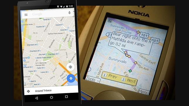 Diez años de Google Maps
