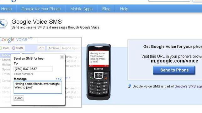 Google cierra la búsqueda a través de SMS