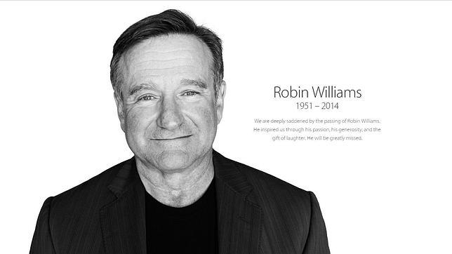 Apple rinde tributo a Robin Williams