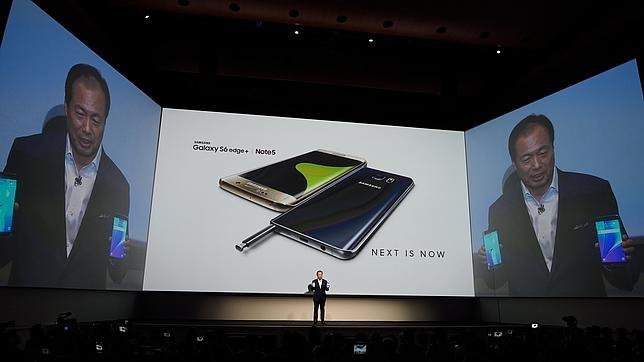 Samsung Galaxy Note 5 y S6 Edge+: más grandes y potentes para hacer frente a Apple