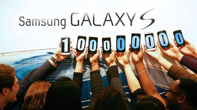 La serie Galaxy S de Samsung supera las 100 millones de unidades vendidas