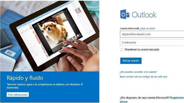 El fallo en Outlook y Hotmail lo provocó un sobrecalentamiento de los servidores