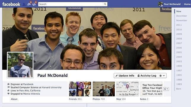El diseñador de la «biografía» de Facebook abandona la empresa