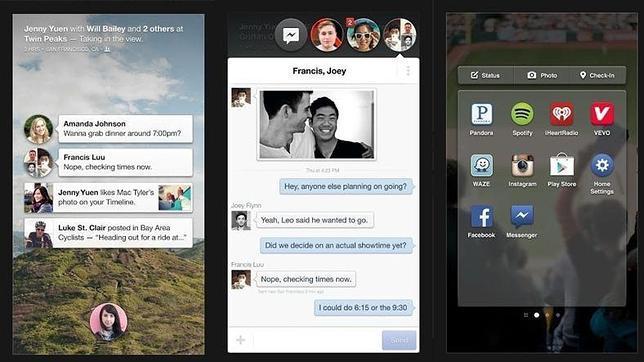 Cómo descargarse Facebook Home... en cualquier dispositivo Android