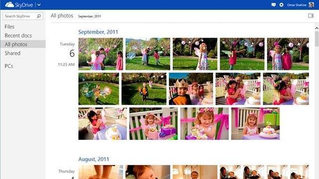 SkyDrive se acerca a Dropbox y Google+ con un «Timeline» de fotos