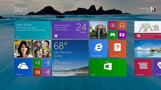 Microsoft confirma que Windows 8.1 se lanzará en Octubre