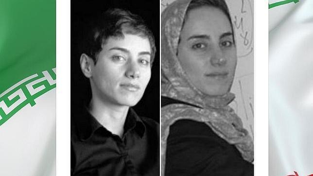 El presidente de Irán «tuitea» una foto sin velo de la primera mujer en ganar la Medalla Fields
