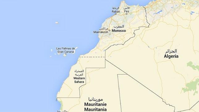 Recogida de firmas para que Google Maps «corrija» su mapa donde aparece el Sáhara Occidental