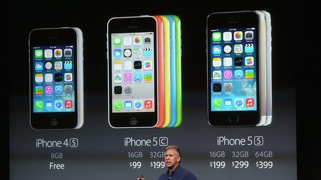 Apple vende más del doble de Iphone 5S que del 5C, su modelo «low cost»