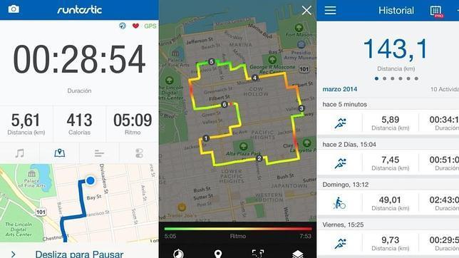 Aplicaciones que se conectan a Apple Health