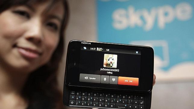Skype crece un 50% en menos de un año en España