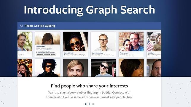Facebook presenta «Graph Search», un nuevo motor de búsqueda