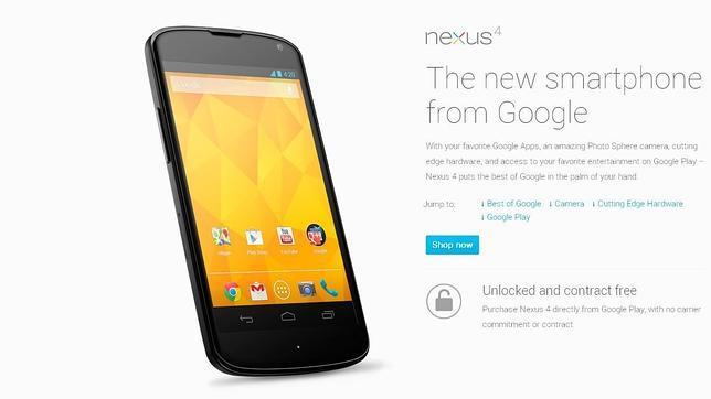El Nexus 4 tiene los días contados