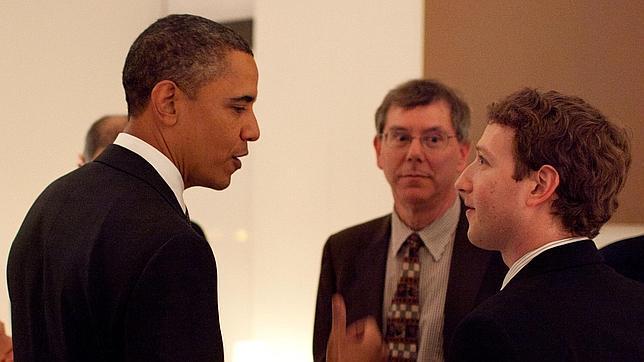 Los usuarios de Facebook se hacen mayores y Obama lo sabe