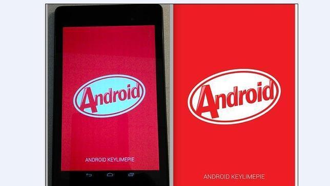 Se filtran las primeras imágenes de Android KitKat