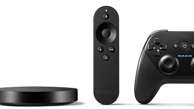 Google lanza el Nexus Player, el competidor directo de Apple TV
