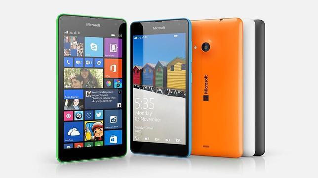 Microsoft lanza en España el Lumia 535, un móvil con cámara para «selfies» por 119 euros