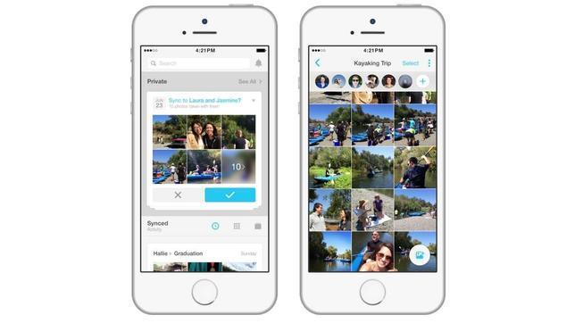 Facebook crea Moments, un servicio para «robar» las fotos en las que salimos