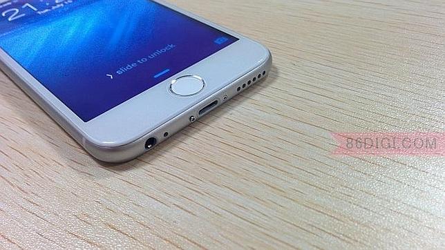 Wico i6, el «clon» plástico del iPhone 6