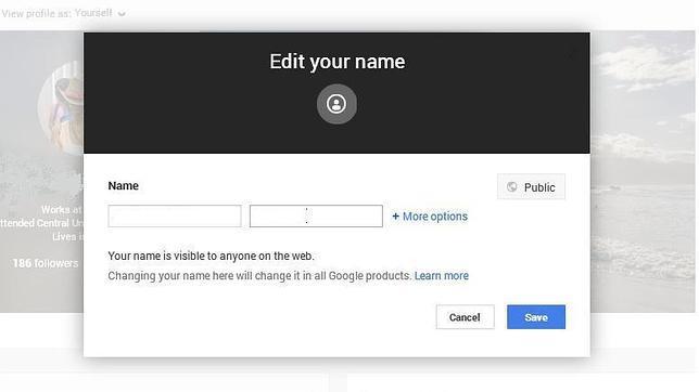 Después de tres años, Google+ elimina las restricciones para los nombres de perfil