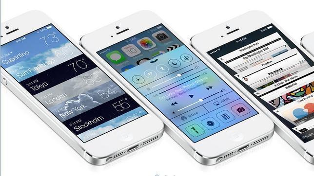 Apple lanza la versión beta 6 del iOS 7