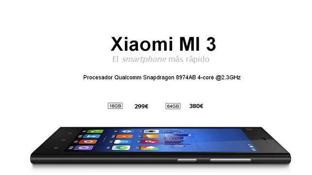 Xiaomi, el «apple chino» vende sus nuevos móviles Mi3 en 86 segundos