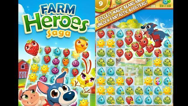 Farm Heroes, el popular juego de Facebook, llegará a los móviles en 2014