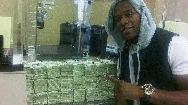 El millón de dólares de Mayweather