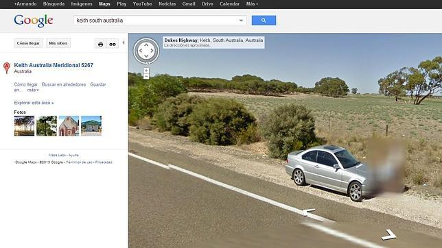 Pillados «in fraganti» por la cámara de Google Street View