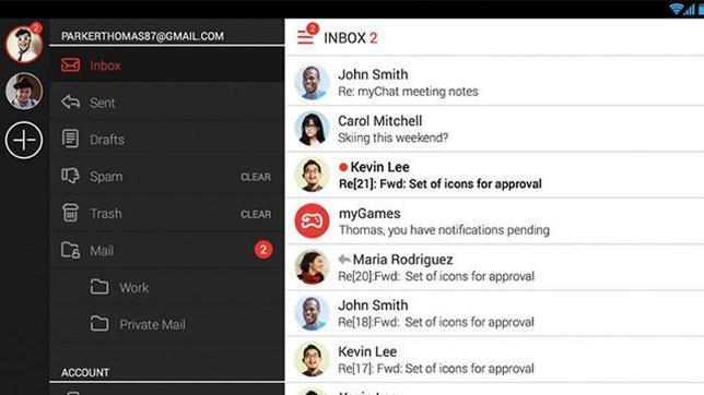 MyMail: una perfecta «app» para organizar todos tus mails
