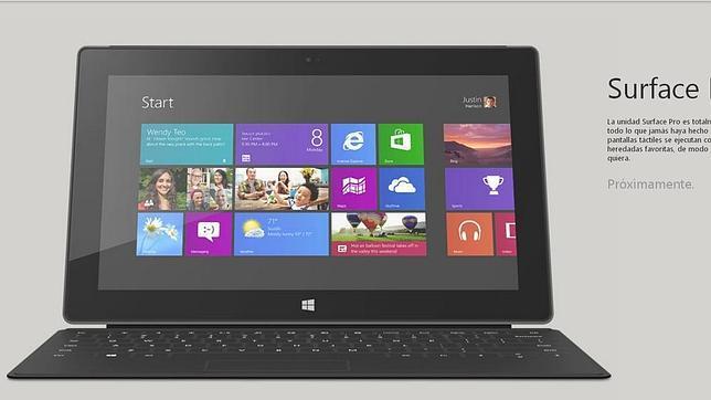 Surface Pro llegará España el 30 de mayo desde 879 euros