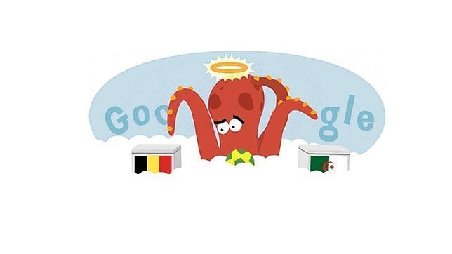 Google dedica su «doodle» al Pulpo Paul