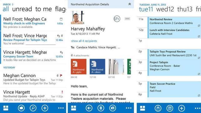 Outlook desembarca en iOS