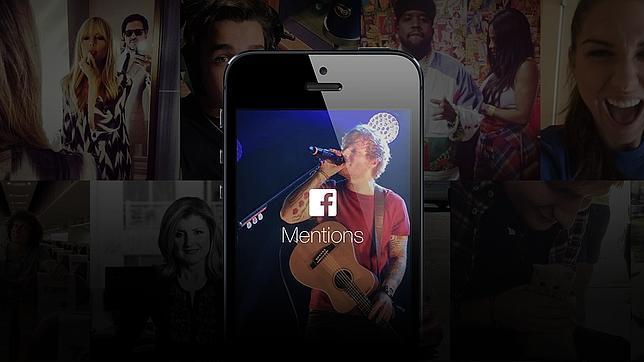 Facebook lanza «Mentions», una «app» para celebridades y empresas