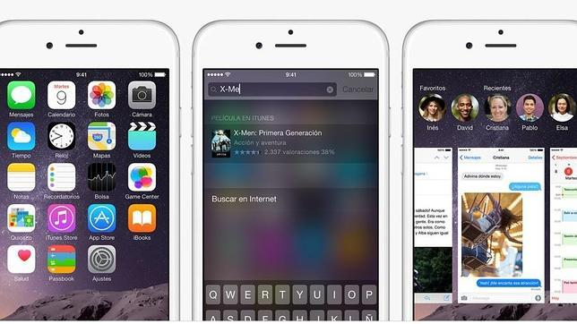 Las claves de iOS 8