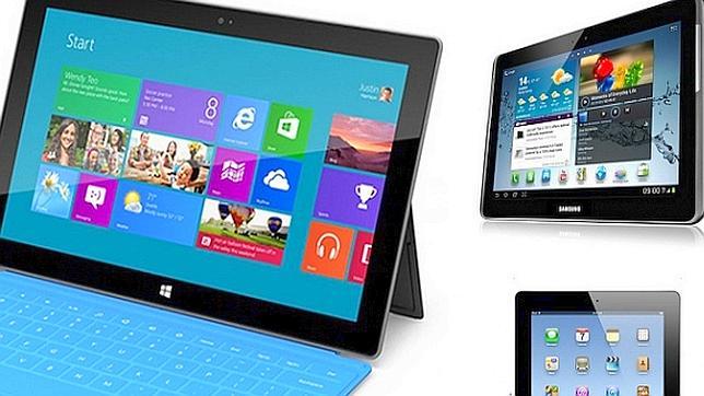Apple y Microsoft relanzan la guerra de los tablets