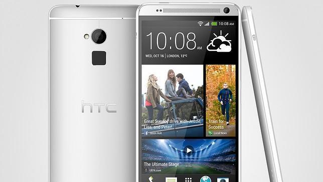 HTC asegura que las huellas dactilares del One Max sólo se almacenan en el móvil