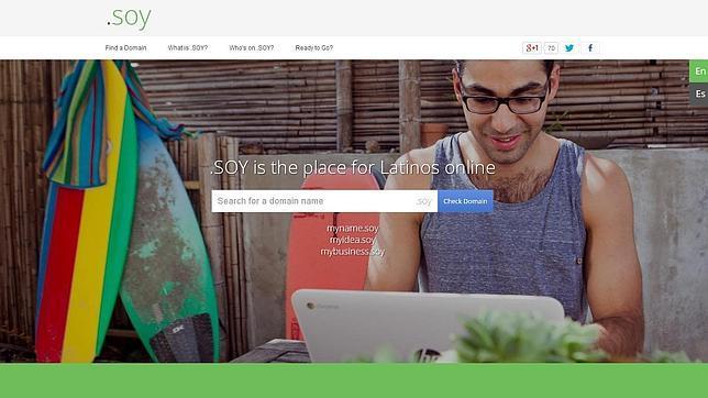 Nace «.soy», un dominio creado por Google para el mercado latino