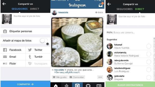 Cómo funciona la nueva opción Instagram Direct