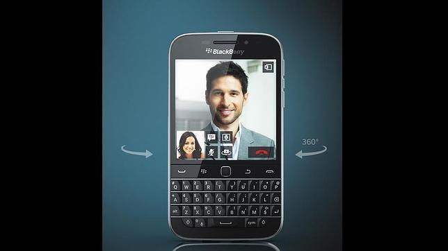 Blackberry presenta Classic, un smartphone para los nostálgicos