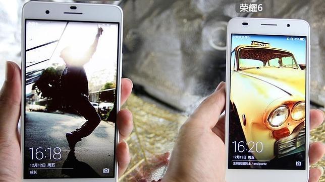 Huawei lanza en Pekín su último smartphone, el Honor 6 Plus