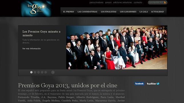 Anonymous ataca la web de los Goya y publica datos de sus asistentes