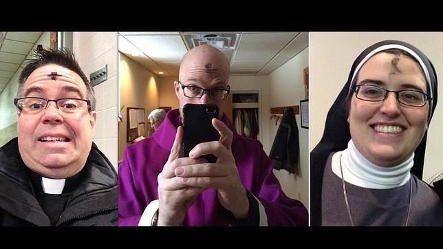 Los religiosos toman Twitter con selfies y la etiqueta #ashtag para celebrar el Miércoles de Ceniza