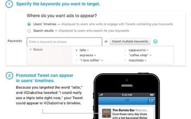 Twitter dirigirá la publicidad según los «tuits» de los usuarios