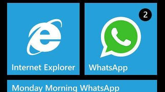 Whatsapp desaparece de la tienda de Windows Phone