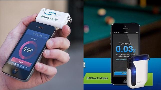 «Apps» que te recomiendan que si bebes no conduzcas (y te piden un taxi)